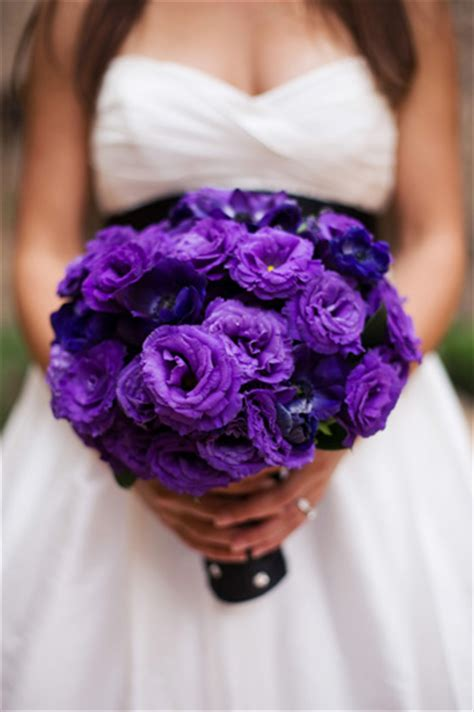 Purple Flowers Wedding by Inexpensive Purple Flowers Weddingbee
