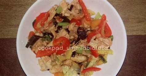 resep ayam suwir enak  sederhana cookpad