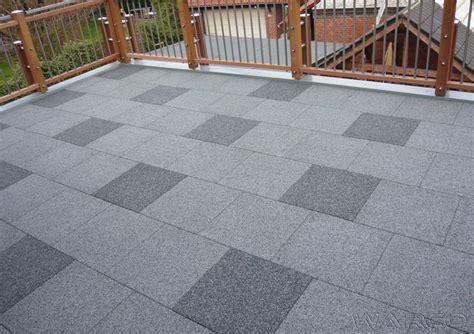 piastrelle terrazzo il pavimento warco di gomma epdm per terrazzo e balcone