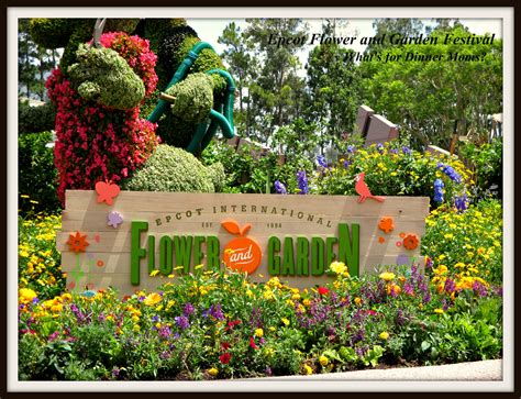 Epcot Flower And Garden Festival What S For Dinner Moms Flower And Garden Festival