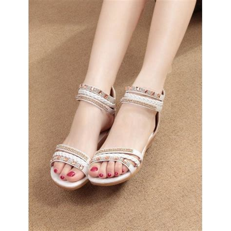 Sepatu Flat Korea Fashion sandal flat model korea sh121 moro fashion