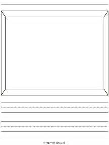 Story writing paper template writing paper template a4 cinderella