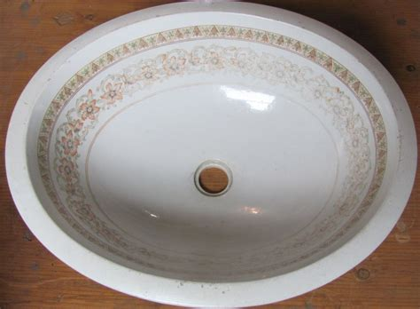 Painted Undermount Bathroom Sinks Antique Vintage Undermount Sink