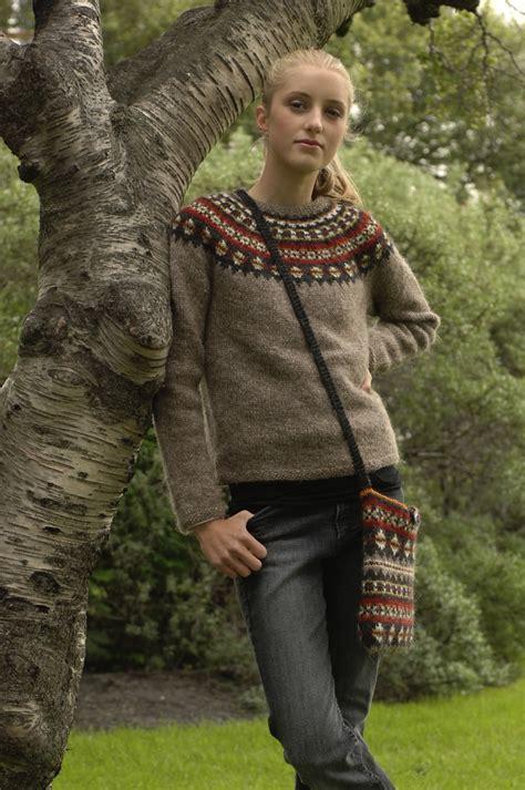 icelandic pattern jumper aftur free knitting pattern v 233 d 237 s j 243 nsd 243 ttir