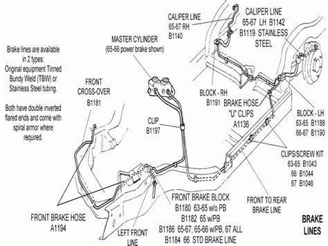 2000 Chevy Silverado Brake Line Diagram