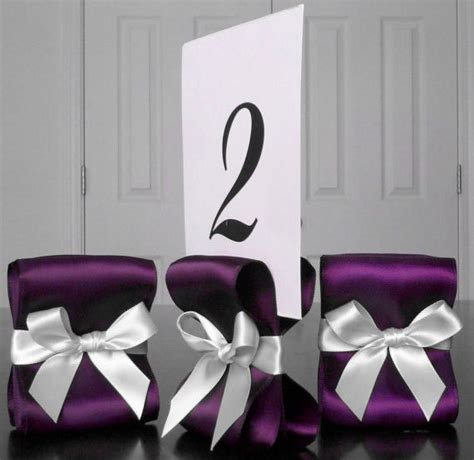 Table Number Holders Wedding by Table Number Holders Wedding Decor Ten 10 By Reservedseating