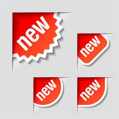 free design sticker online new arrival sticker design vector 04 vector label free