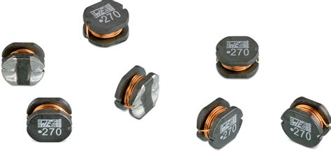 we power inductor we pd2 hv smd power inductor high voltage single coil power inductors wurth electronics