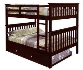 Wooden Bunk Beds With Trundle 3 Best Bunk Beds With Reviews Home Best