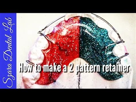 pattern lab youtube orthodontic lab lesson how to make a pattern retainer