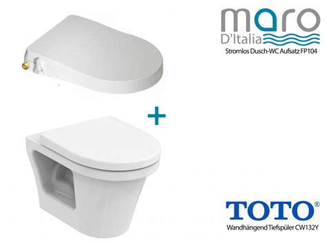 bidet aufsatz wc maro d italia fp104 shower toilet toto cf wc rimless