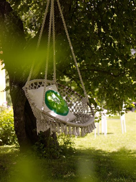 hanging tree swing chair sanna sania tree swings swings and trees