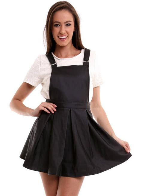 Dress Overal Black Overall Dress Wardrobe Mag