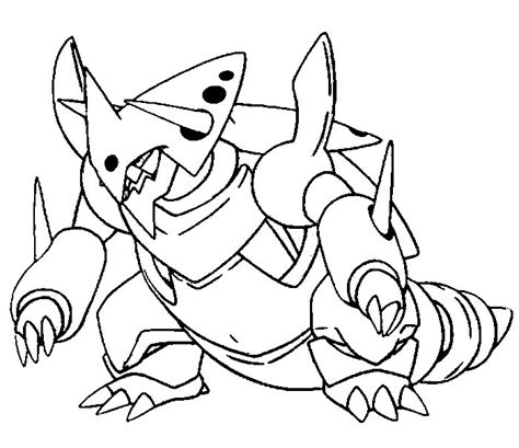 pokemon coloring pages mega salamence coloriage pokemon mega evolution evoli