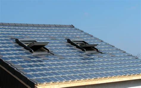 Tuile Photovoltaique Prix by Tuiles 224 Cellules Photovolta 238 Ques L 233 Nergie Solaire Pour