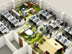 how to design office space with social space office