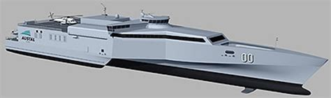 trimaran logistics austal awarded contract for two 72m high speed defence