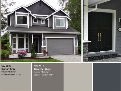houses painted gray we have the exterior painted already with sherwin williams