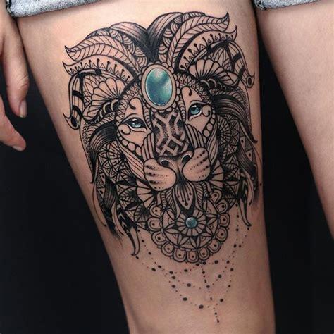 tattoo mandala lion lion mandala tattoo on instagram