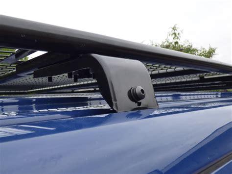 items on roof rack vw t5 transporter black powder coated steel heavy duty