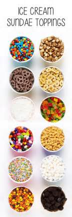 ice cream bar toppings list best 10 ice cream social ideas on pinterest