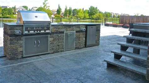 viking outdoor kitchens outdoor kitchens viking landscaping
