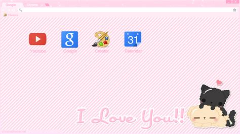 theme google chrome love i love you theme google chrome y torch by