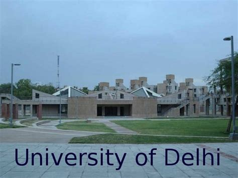 Delhi School Of Economics Mba Admission by Delhi Issues Notification For M Phil Ph D