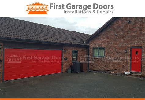 how to fit a composite front door garage door fitted to match composite door colour of door