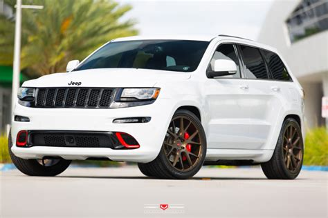 Jeep Srt Custom Jeep Srt8 On Vossen Forged Vps 306