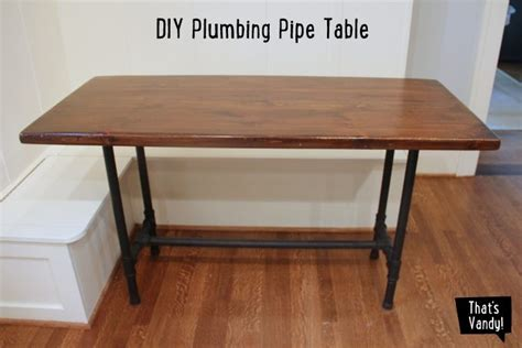 diy plumbing pipe table diy plumbing pipe table that s vandy