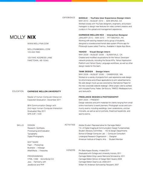 Resume Design Ideas 27 Beautiful R 233 Sum 233 Designs You Ll Want To