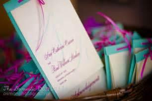 Homemade Wedding Programs Diy Multi Layer Wedding Programs Weddingbee Photo Gallery