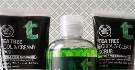 Harga The Shop Clean Series review the shop tea tree squeaky clean scrub 我的美丽日记