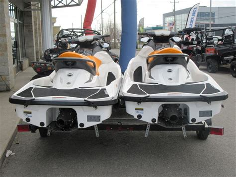 sea doo boat dealers in quebec bombardier sea doo gti 130 2015 used boat for sale in