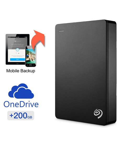 Hardisk Portable Seagate seagate backup plus 4 tb portable disk drive mobile device backup black buy rs