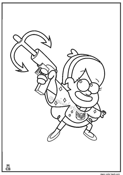 gravity falls coloring book coloring pages