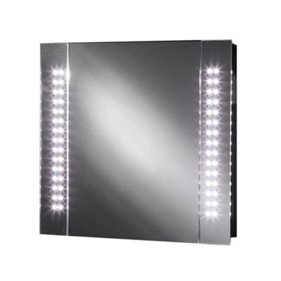 led bathroom cabinet with shaver socket buy galactic led illuminated bathroom mirror cabinet with