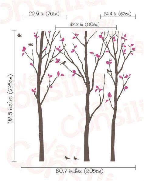 Wandtattoo Kinderzimmer Baum Weiss by Die Besten 25 Wandtattoo Baum Wei 223 Ideen Auf