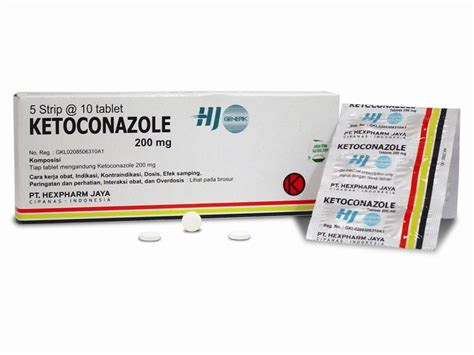ketoconazole tablet 200 mg