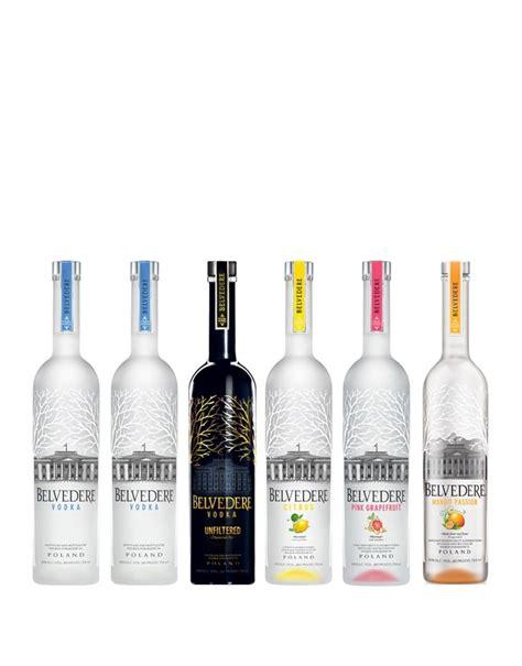 buy barware online belvedere vodka collection 6 bottles buy online or