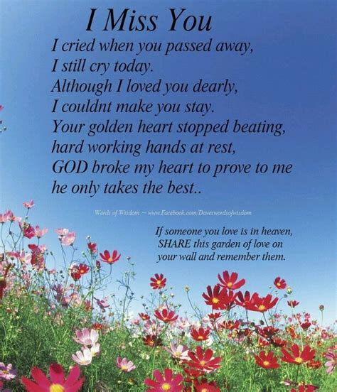 i miss you so much love poems from the heart for my great grandma happy birthday i miss you so much