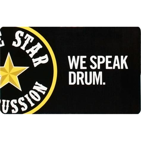 The Star Gift Card - lone star percussion gift card