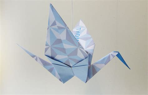 A Paper Crane - the story of the luck origami crane origami zoo