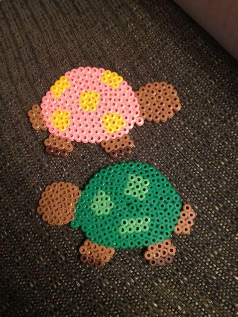 turtle perler turtles hama perler perler bead crafts