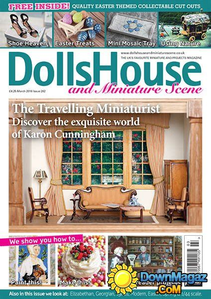 dolls house and miniature scene dolls house and miniature scene march 2016 187 download pdf magazines magazines