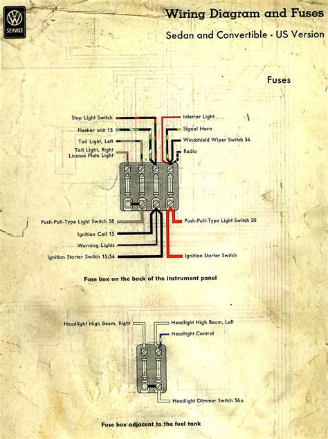 thesamba com view topic wiring diagram for a 1960 bug