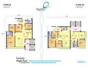 West Quay Floor Plan by Exclusive Deal Quaywest Residence Penang Property Talk