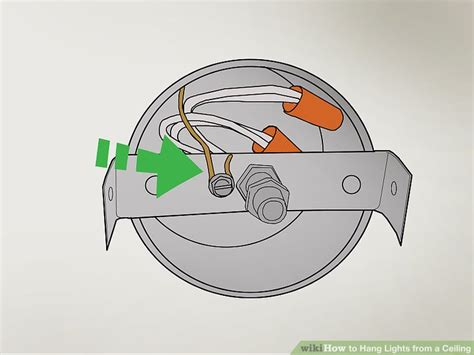 how to hang lights from ceiling how to hang lights from a ceiling 13 steps with pictures