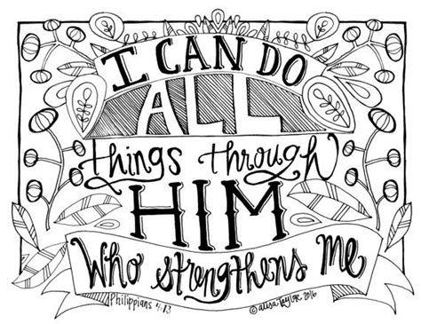 adult colouring page bible verse philippians 4 instant 204 best adult scripture coloring pages images on